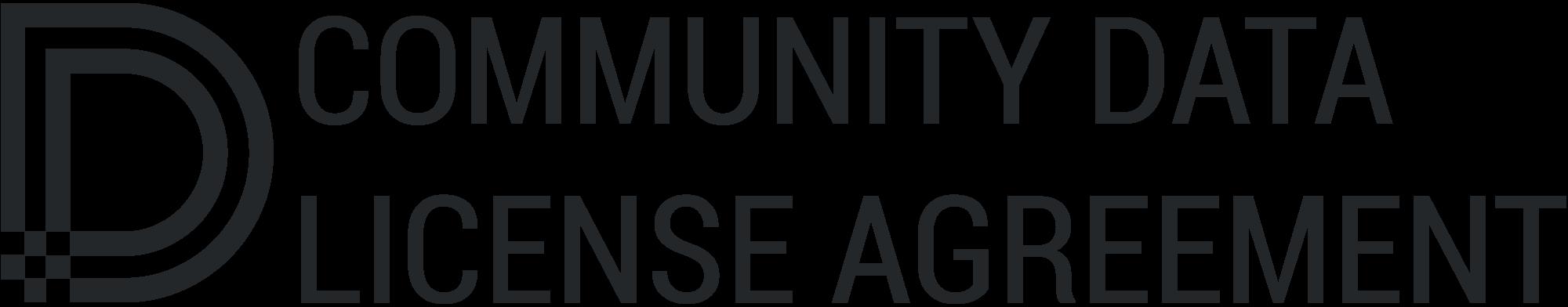 Community Data License Agreement Sharing Version 10 Cdla